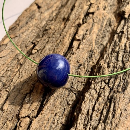 Kék bolyongó nyaklánc